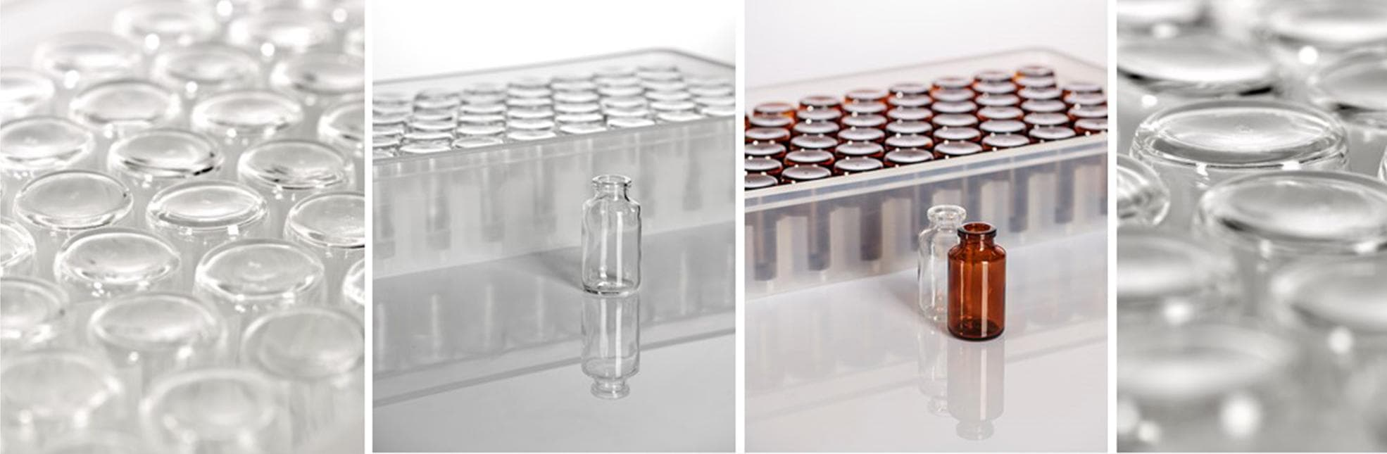 Type I molded glass vials